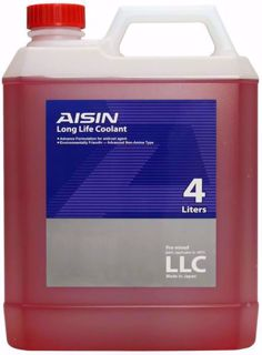 Aisin Antifreez Coolant Red 4L