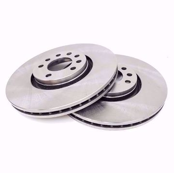 Picture of Front Brake Discs (Pair) - BYD F3