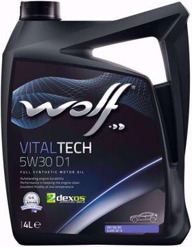 VitalTech 5W30 D1 زيت محرك وولف فيتالتيك