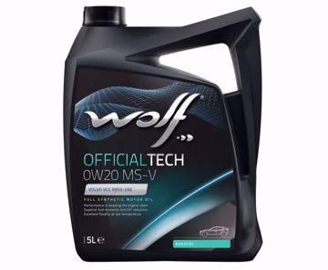 WOLF ENGINE OIL OfficialTech 0W20 MS-V