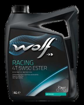 Racing 4T 5W50 ESTER  زيت الموتوسيكال وولف راسينج