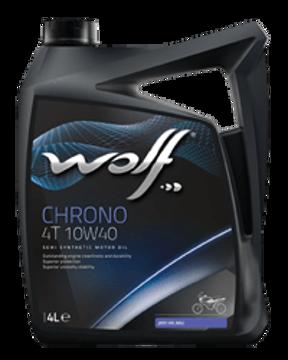 CHRONO 4T 10W40  زيت الموتوسيكال وولف كورونو