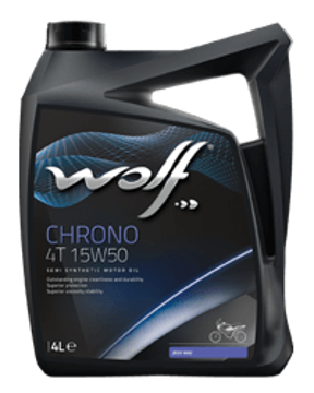 CHRONO 4T 15W50  زيت الموتوسيكال وولف كرونو