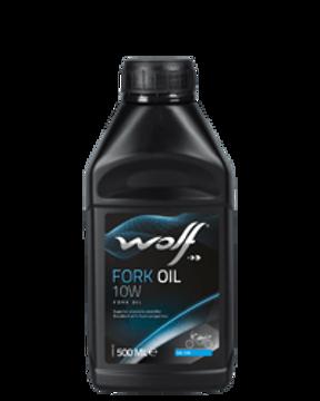 FORK OIL 10W  500 ML  زيت الموتوسيكال وولف 500 مل