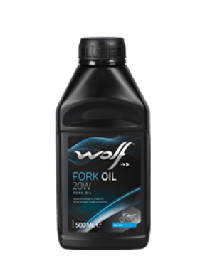 FORK OIL 20W  500 ML  زيت الموتوسيكال وولف 500 مل