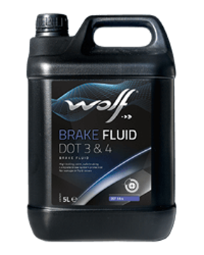BRAKE FLUID DOT 3&4  زيت فرامل 500 مل