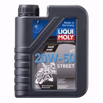 Liqui Moly MOTORBIKE 4T 20W50 STREET