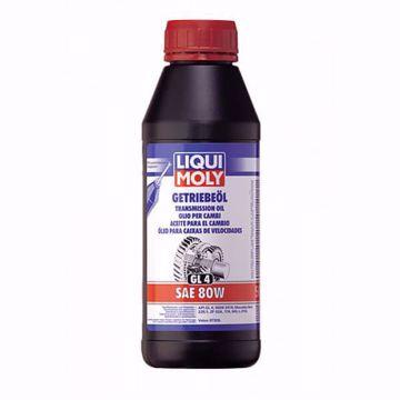 زيت الفتيس Liqui Moly GEAR OIL (GL4) SAE 80W من ليكوي مولي 500 مل