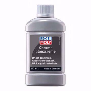 ملمع للاجزاء الكروم و النيكل Liqui Moly CHROME GLOSS CREAM 250ml من ليكوي مولي