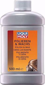 مستحضر تلميع شمعي Liqui Moly POLISH & WAX  500ml من ليكوي مولي
