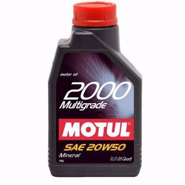 MOTUL Mineral 2000 MULTI GRADE 20W50 SL/CF Engine Oil