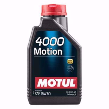 MOTUL Mineral 4000 MOTION 15W50 SN Engine Oil