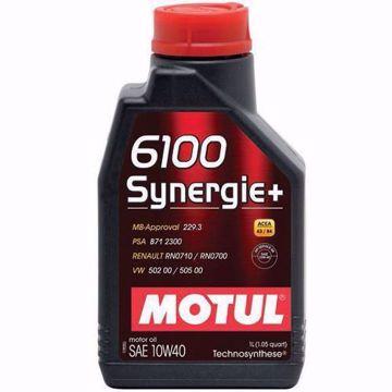 MOTUL TECHNOSYNTHESE 6100 SYNERGIE+ 10W40 SN/CF Engine Oil