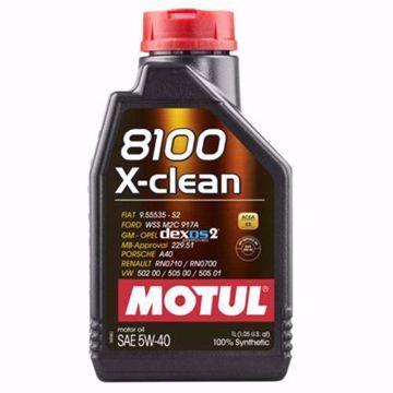 MOTUL SYNTHETIC 8100 X-CLEAN 5W40 SN/CF Engine Oil