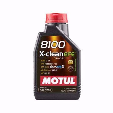 MOTUL SYNTHETIC 8100 X-CLEAN EFE 5W30 SN/CF Engine Oil