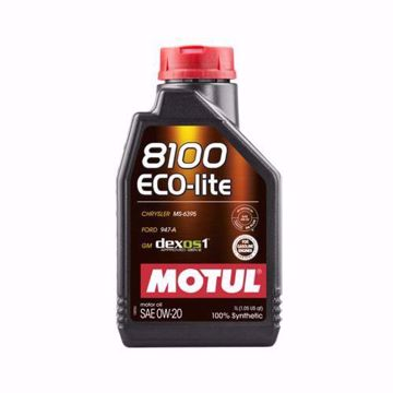 MOTUL SYNTHETIC 8100 ECO-LITE 0W20 SN/CF Engine Oil