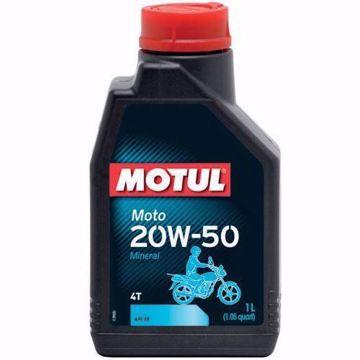 MOTUL MOTO 20W50 4T MOTORCYCLE OIL 1L