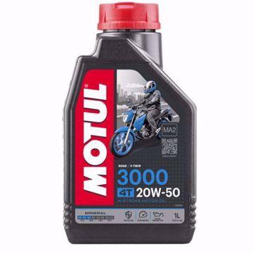 MOTUL 3000 20W50 4T MOTORCYCLE OIL
