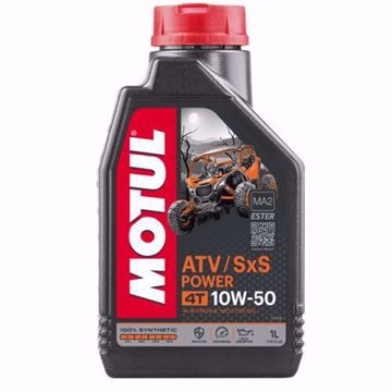 MOTUL ATV-SXS POWER 4T 10W50 MOTORCYCLE OIL 1L