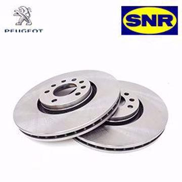SNR REAR BREAK DISC - PEUGEOT 207